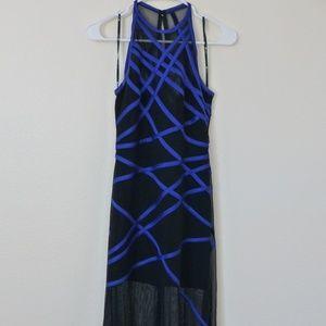 Tadashi long cocktail dress